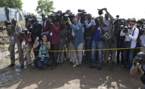 South Sudan media practitioners