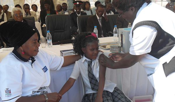 More than 17,000 girls given the the HPV Vaccine