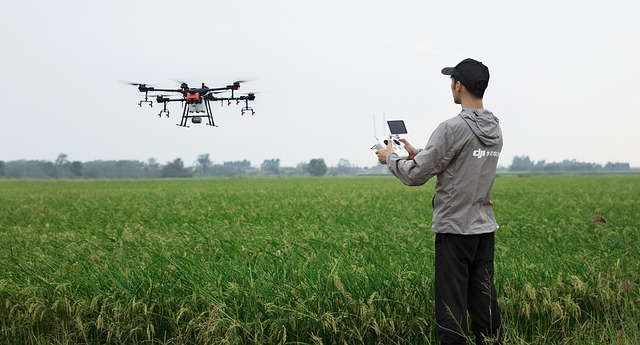 drone technology in African farming