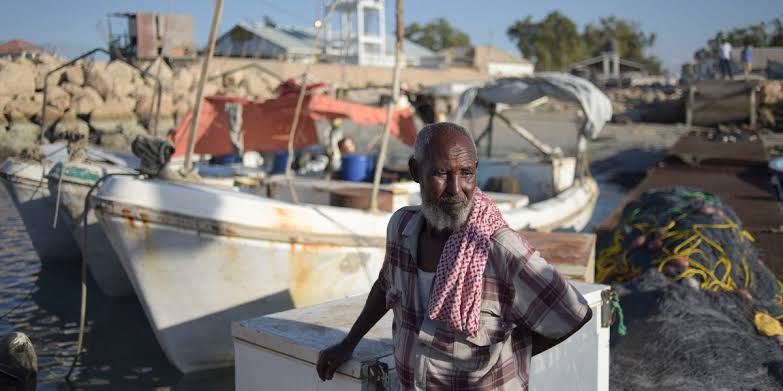 Chinese fishing vessels in Somali waters