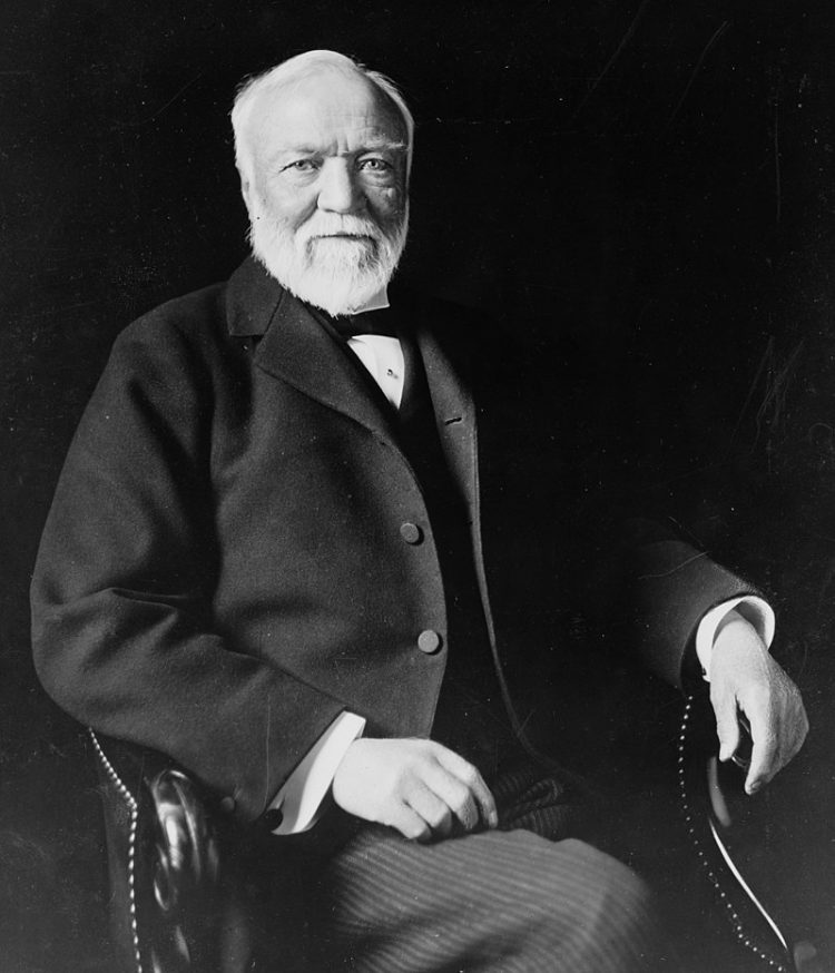 Andrew Carnegie is among the richest people in history has ever known