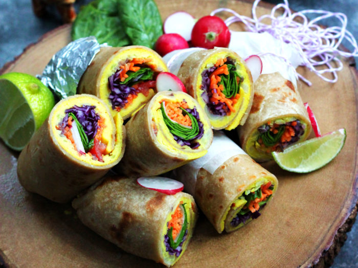 The Famous Rolex (Rolled Eggs)